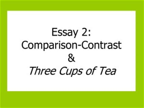 Divided thesis statement compare and contrast